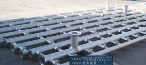 散気装置ヘッダー管